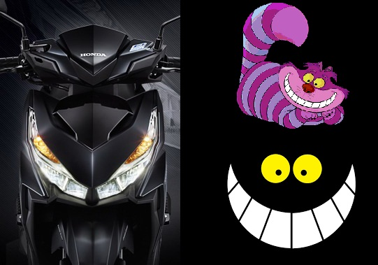 Honda-cheshire cat-