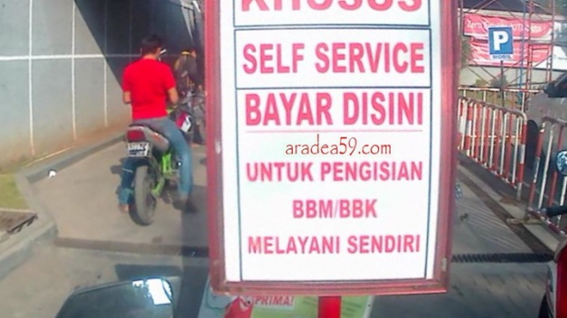 Image result for pom bensin self service